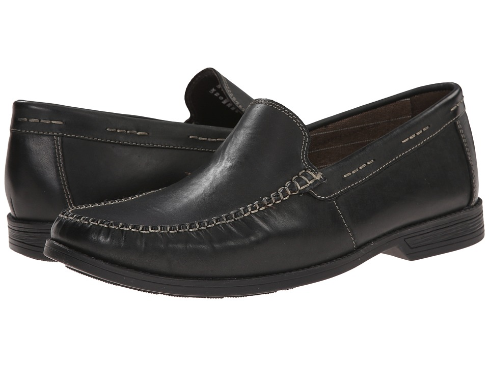 Bostonian - Warren Twin (Black Leather) Men