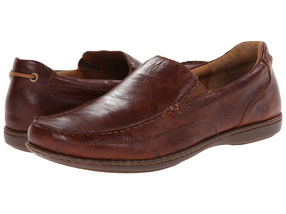 Born - Paine (Brown Full-Grain Leather) Men's Shoes