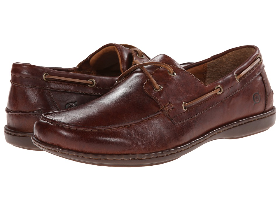 Born - Henri (Brown Full-Grain Leather) Men's Shoes
