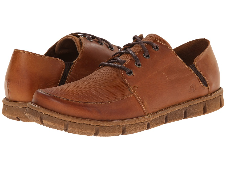 Born - Tristen (Miel (Rust) Embossed Full-Grain Leather) Men