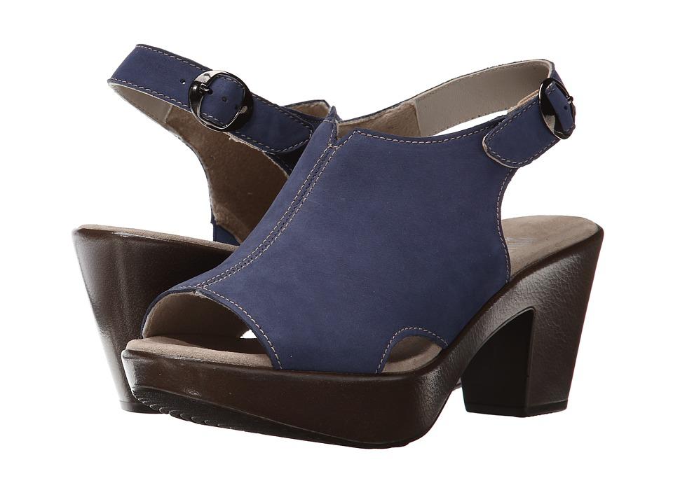 Munro - Kirsten (Blue Nubuck) High Heels