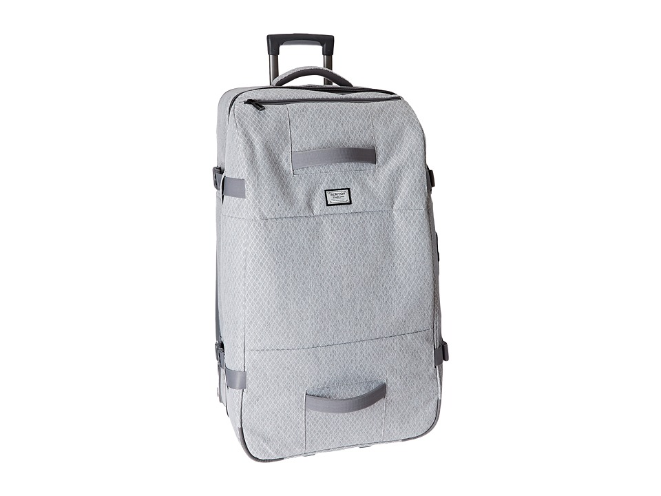 Burton - Wheelie Sub (Grey Heather Diamond Ripstop) Luggage