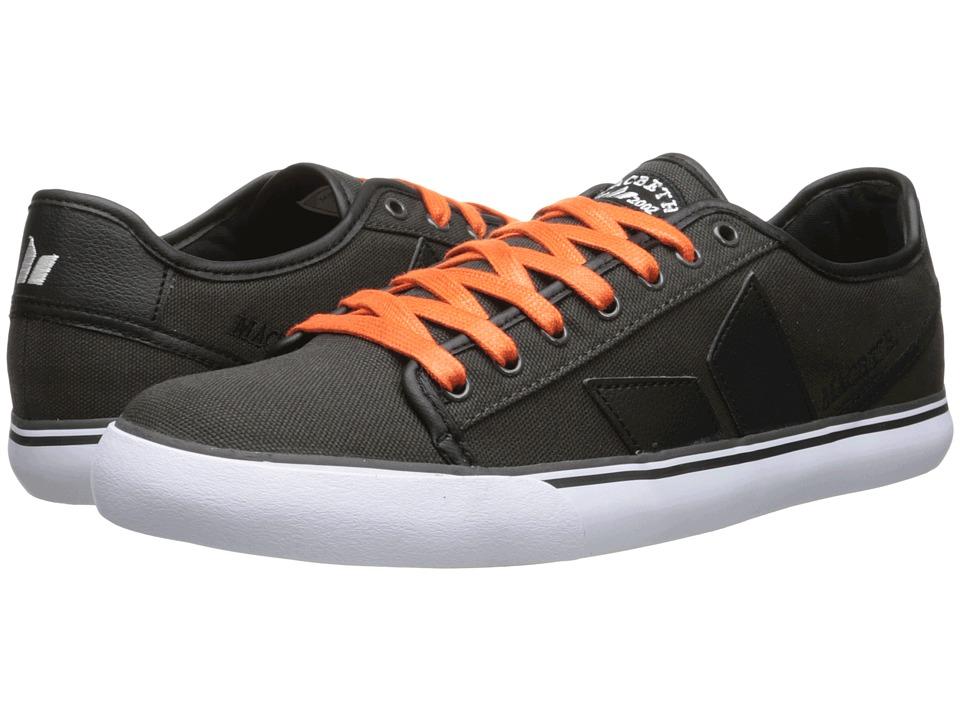 Macbeth - James (Dark Grey/Orange Vegan) Men's Skate Shoes