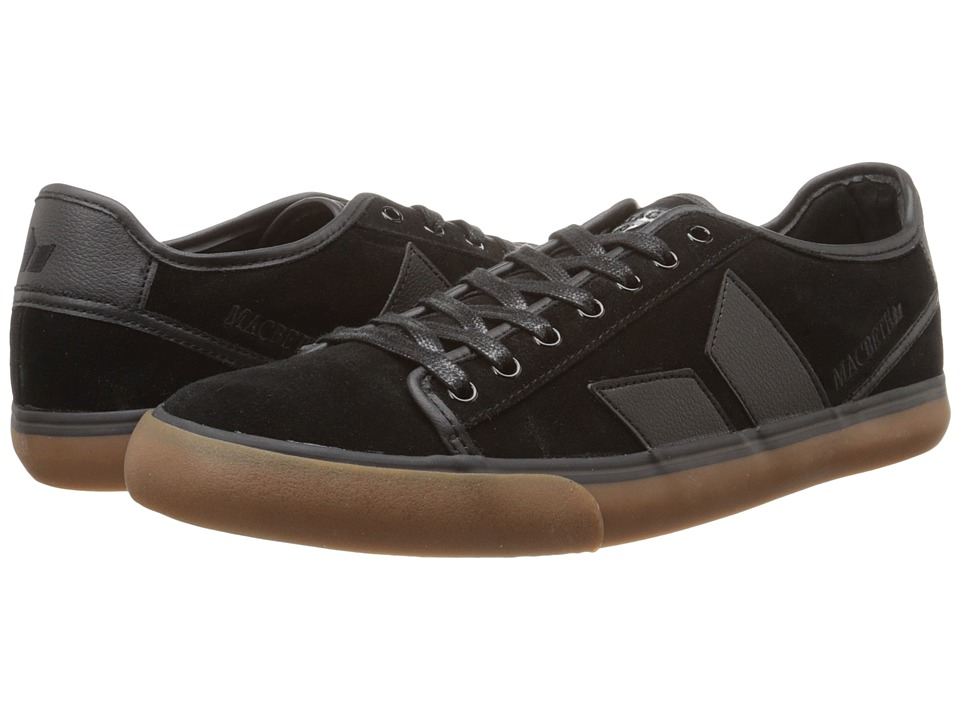 Macbeth - James (Black/Plaid) Men's Skate Shoes