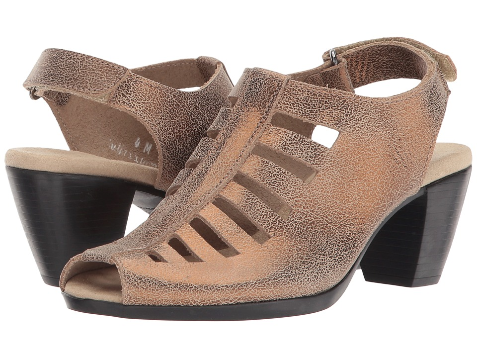 Munro - Abby (Golden Taupe Nubuck) Women's Shoes