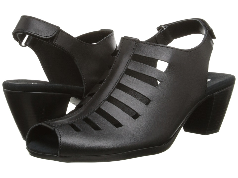 Munro - Abby (Black Leather) Women's Shoes
