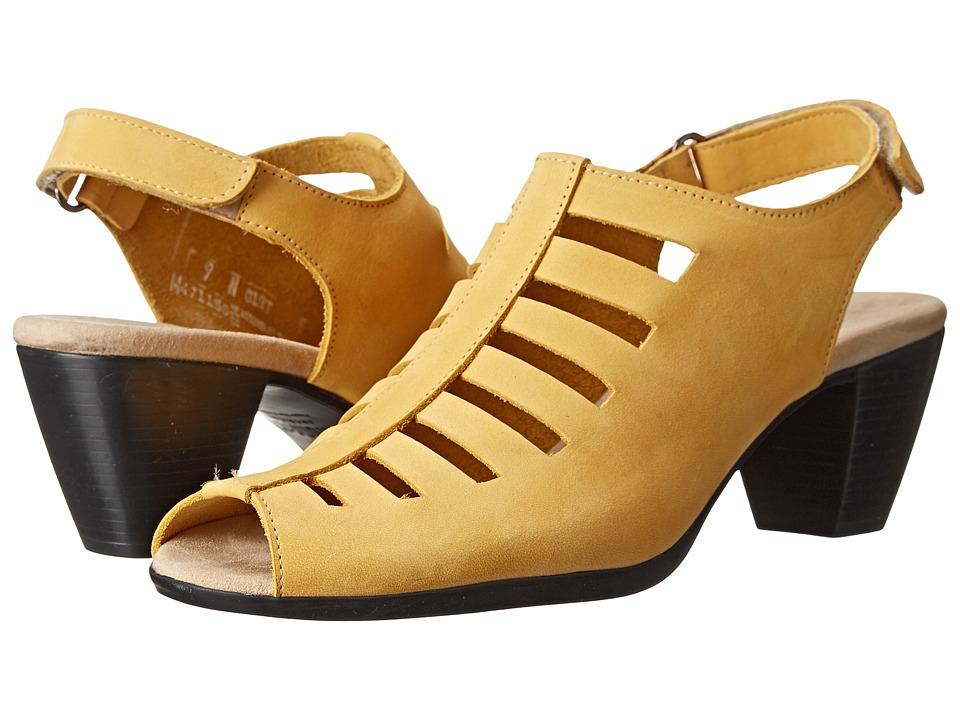 Munro - Abby (Yellow Nubuck) Women's Shoes
