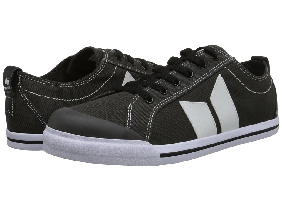 Macbeth - Eliot Vegan (Dark Grey/White Vegan) Skate Shoes