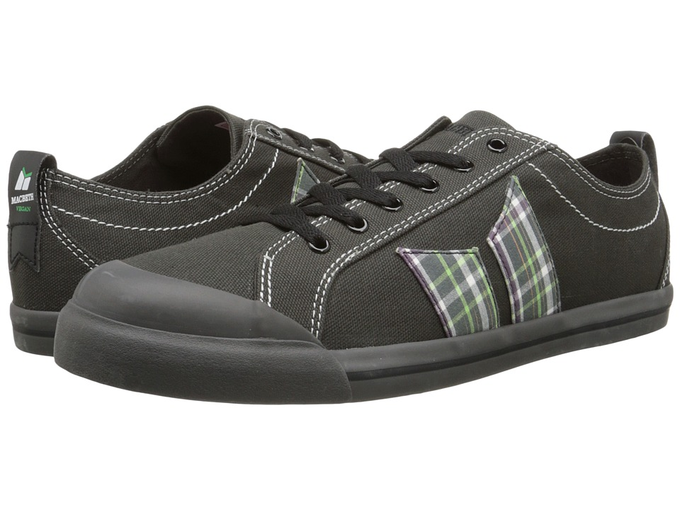 Macbeth - Eliot Vegan (Dark Grey/Plaid Vegan) Skate Shoes