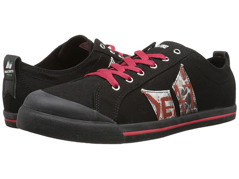 Macbeth - Eliot Vegan (Black/Wallpaper Vegan) Skate Shoes