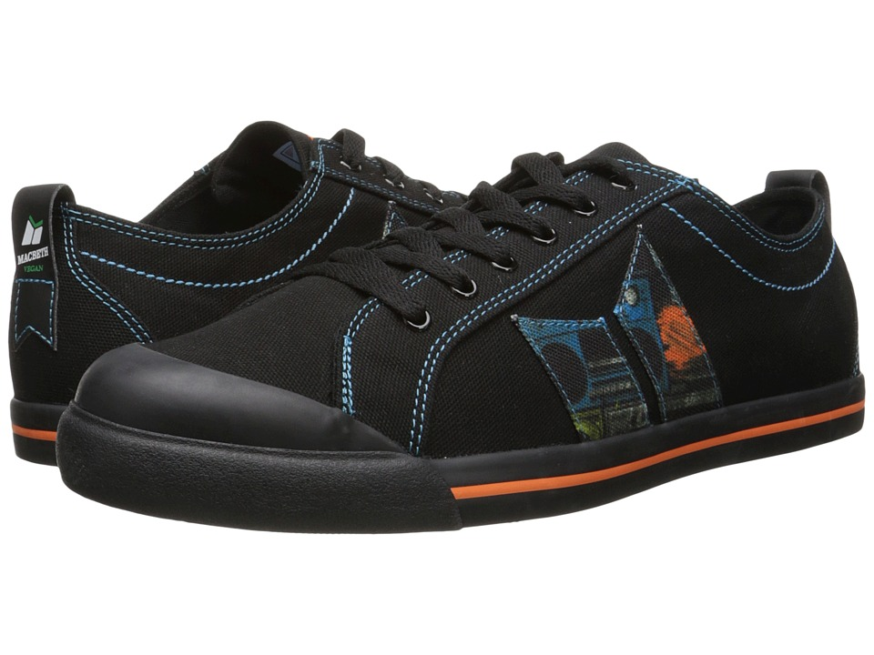 Macbeth - Eliot Vegan (Black/Boombox Vegan) Skate Shoes