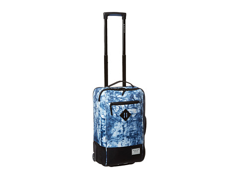 Burton - Red Eye Roller (Indigo Print) Carry on Luggage