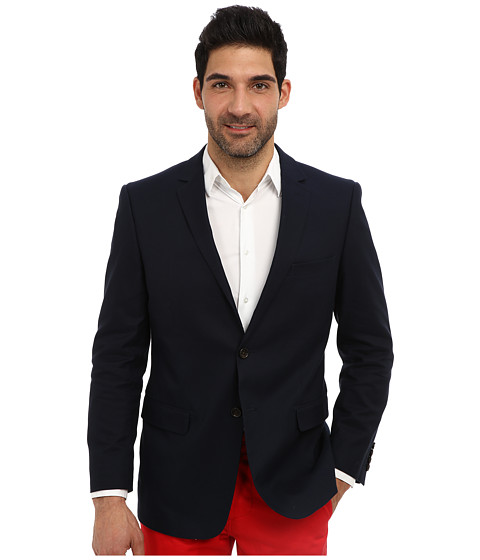 U.S. POLO ASSN. - Single Breasted Navy Blazer (Classic Navy) Men's Jacket