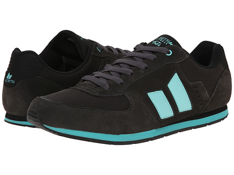 Macbeth - Fischer (Dark Grey/Sea Foam) Men's Skate Shoes
