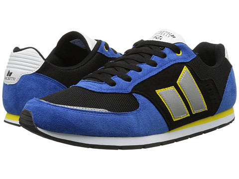 Macbeth - Fischer (Blue/Yellow Vegan) Men's Skate Shoes