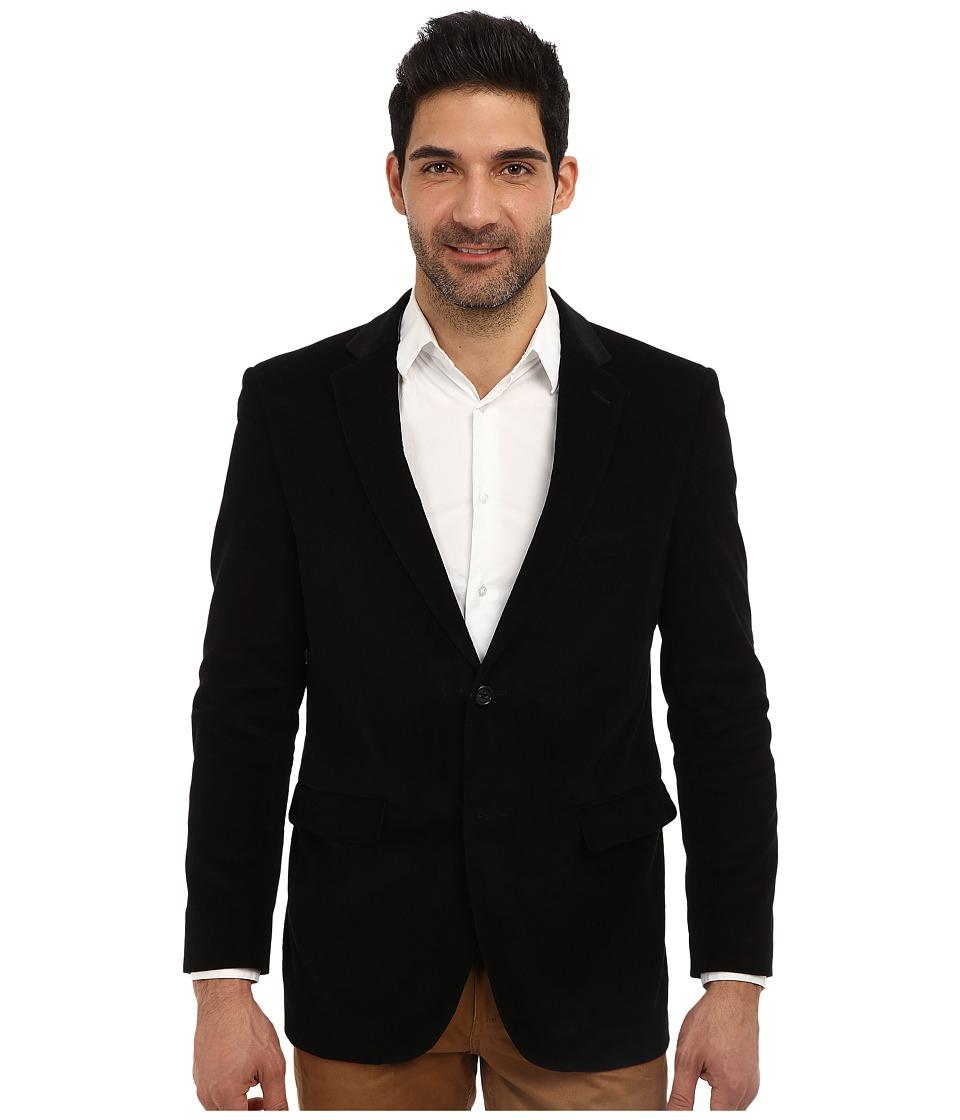 U.S. POLO ASSN. - Cotton Corduroy Sport Jacket (Black) Men's Jacket