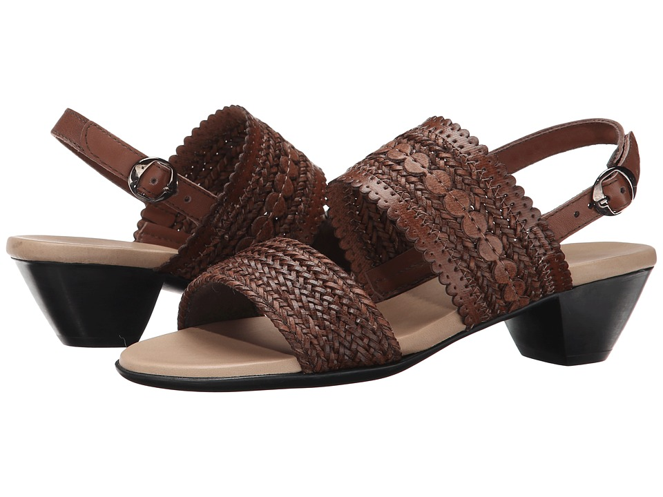 Munro - Morocco (Brown Woven) High Heels