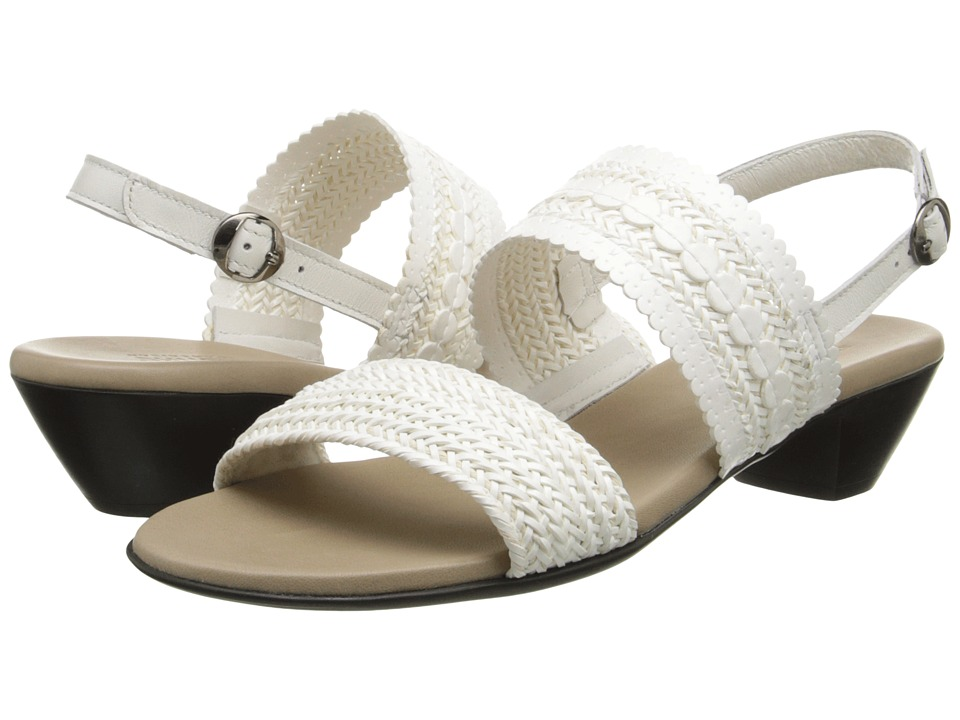 Munro Morocco (White Woven) High Heels