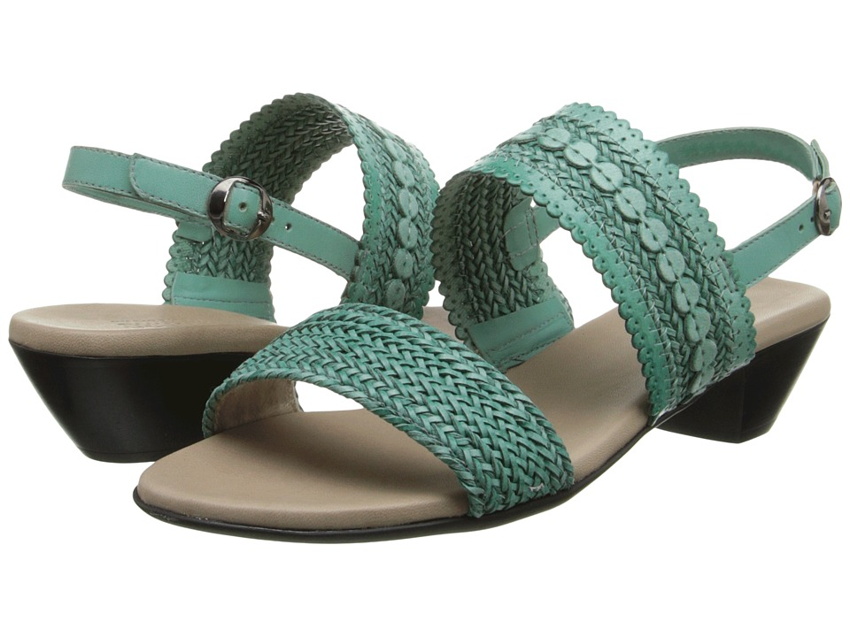 Munro - Morocco (Turquoise Woven) High Heels