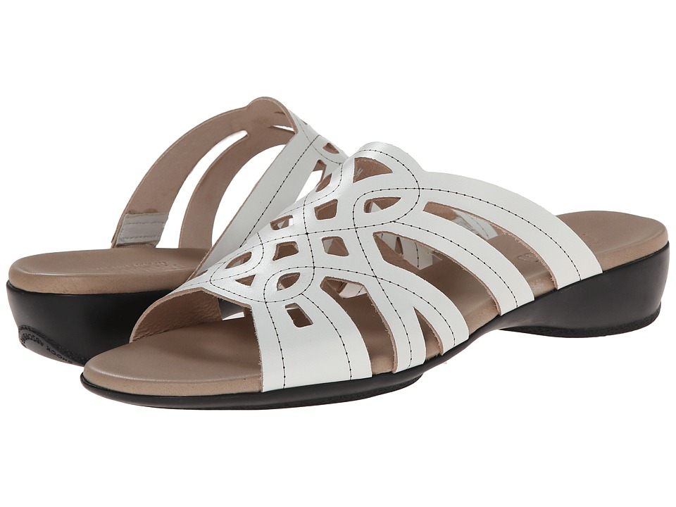 Munro American - Malia (White Leather) Women's Sandals