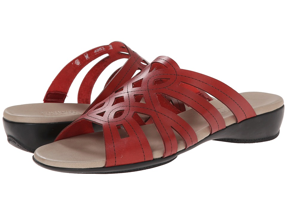 Munro - Malia (Red Leather) Women's Sandals