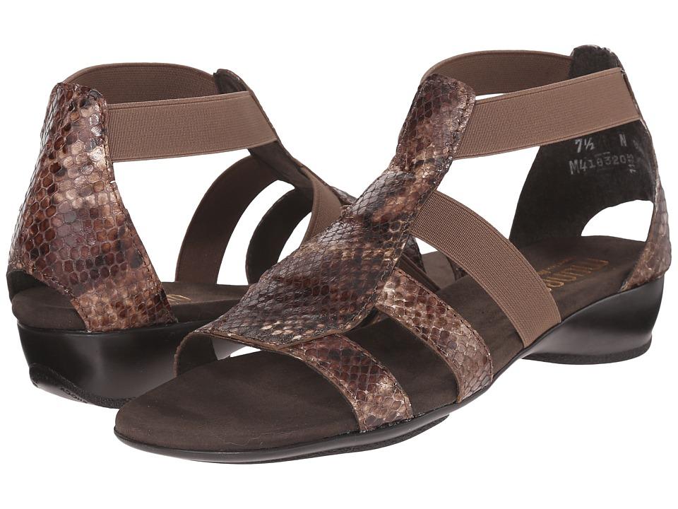 MUNRO Zena (Brown Python) Women's Sandals
