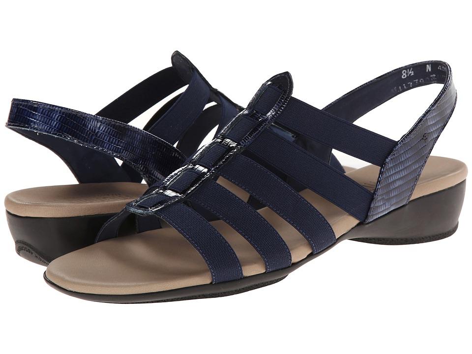 Munro - Darian (Blue/Stretch) Women's Sandals
