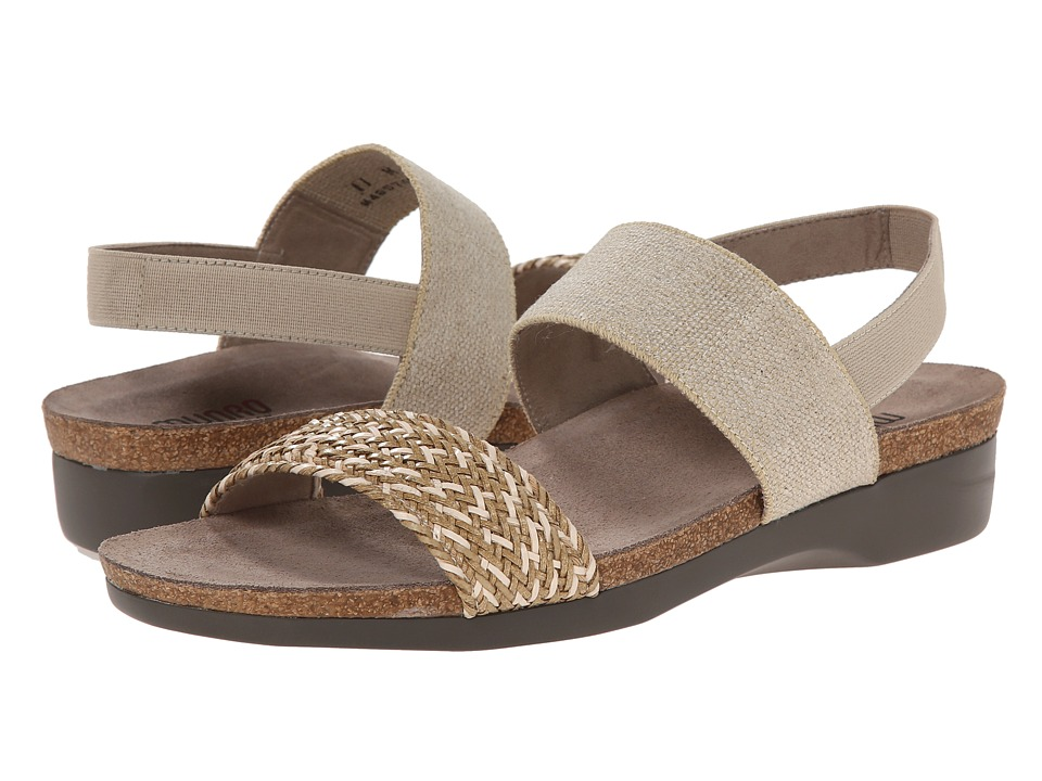 Munro - Pisces (Natural Multi Woven) Women's Sandals