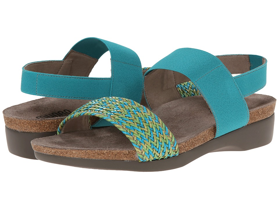 Munro - Pisces (Turquoise Multi Woven) Women's Sandals