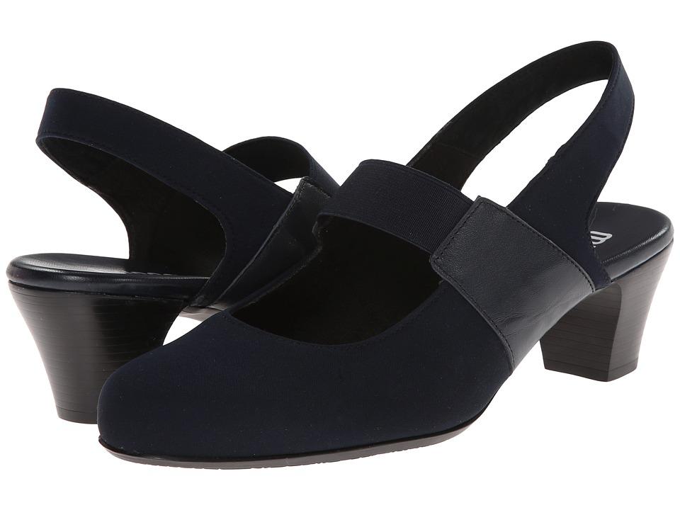 Munro - Ella (Navy Fabric) Women's Maryjane Shoes