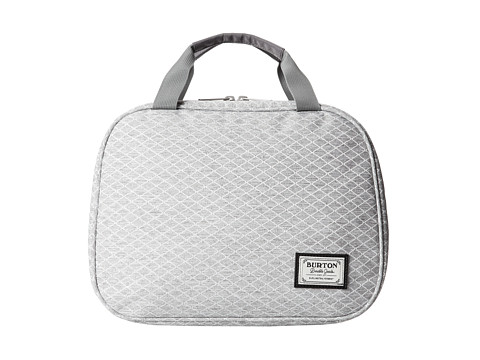 Burton - Tour Kit (Grey Heather Diamond Ripstop) Toiletries Case
