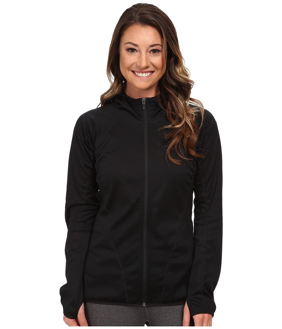 Merrell - Clearity Windblocker Hoodie (Black) Women's Long Sleeve Pullover