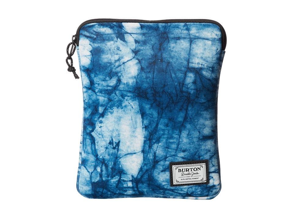 Burton - Tablet Sleeve (Indigo Print) Computer Bags
