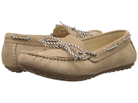David Tate - Connie (Natural) Women's Flat Shoes