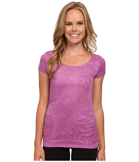 Merrell - Siena Cinch Tee (Iris Print) Women's T Shirt