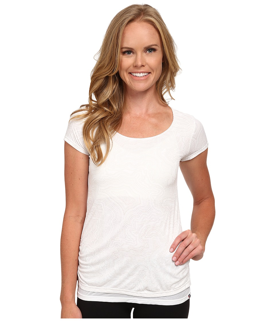 Merrell - Siena Cinch Tee (White Print) Women's T Shirt