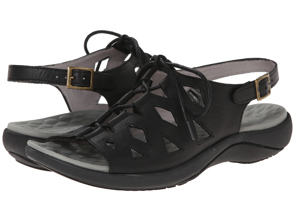 David Tate - Dallas (Black) Women's Sandals