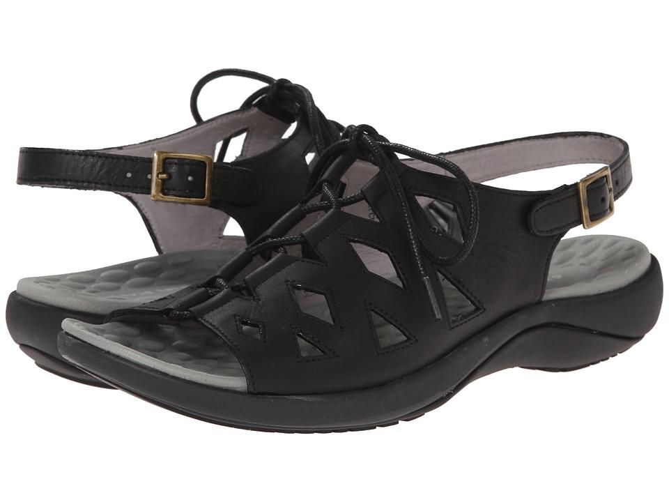 David Tate - Dallas (Black) Women's Sandals