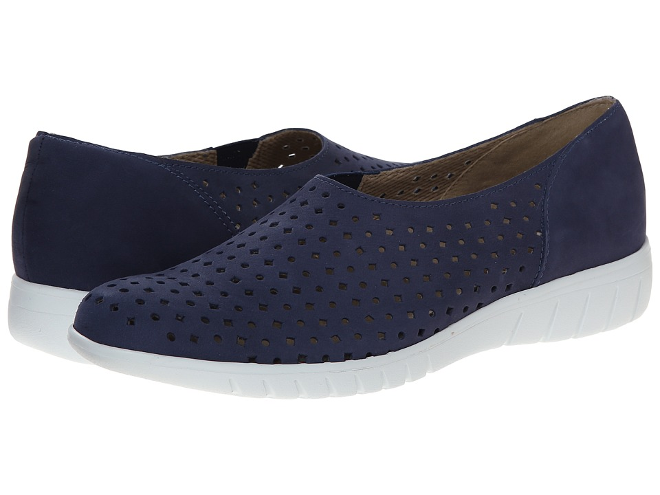 Munro - Skipper (Indigo Nubuck) Women's Slip on Shoes