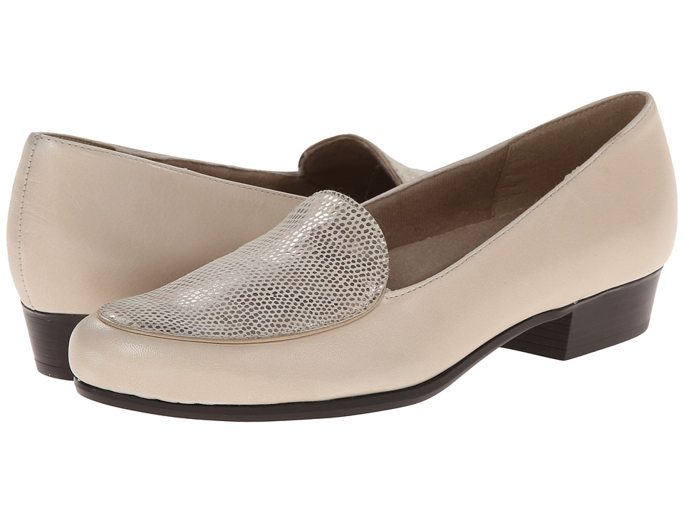 Munro - Mallory (Bone Kid/Print) Women's Slip on Shoes