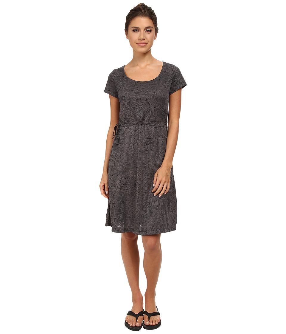 Merrell - Siena Cinch Dress (Shadow Print) Women's Dress