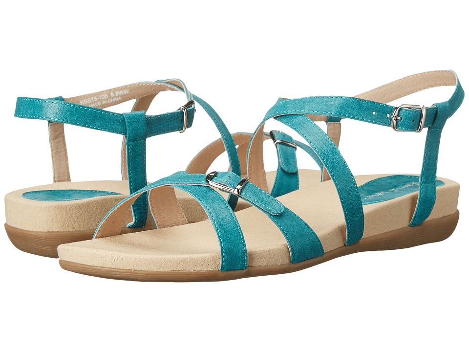 David Tate - Farah (Teal) Women's Sandals