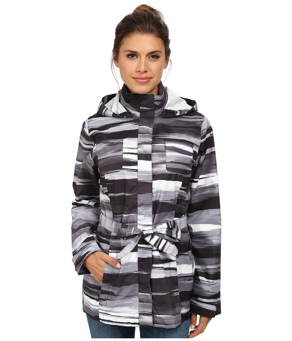 Merrell - Gamma Mid Length 2.5L Jacket (Black Print) Women's Jacket