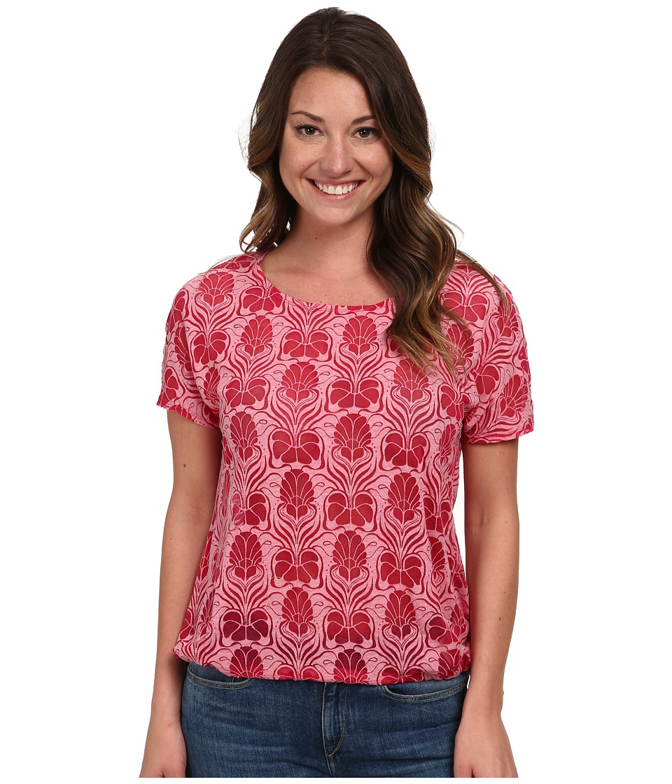 Merrell - Flora Deco Tee (Fuchsia Heather) Women
