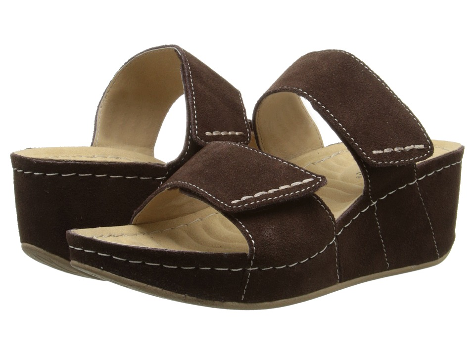 David Tate - Paris (Brown) Women's Sandals