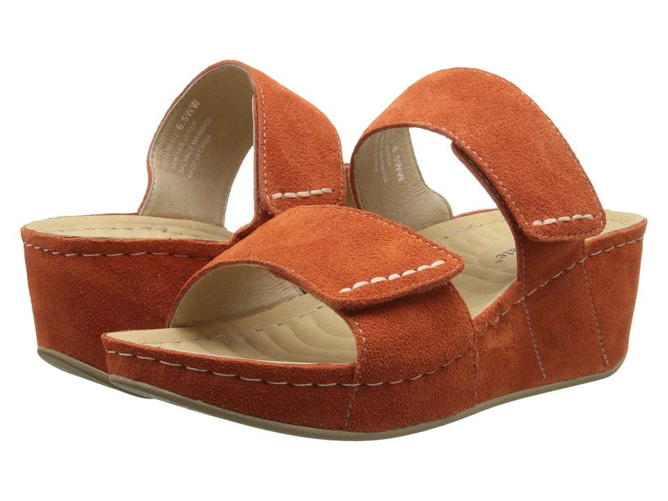 David Tate - Paris (Orange) Women's Sandals