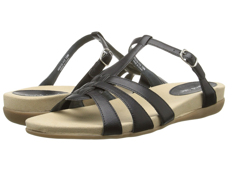David Tate - Squeeze (Black) Women's Sandals
