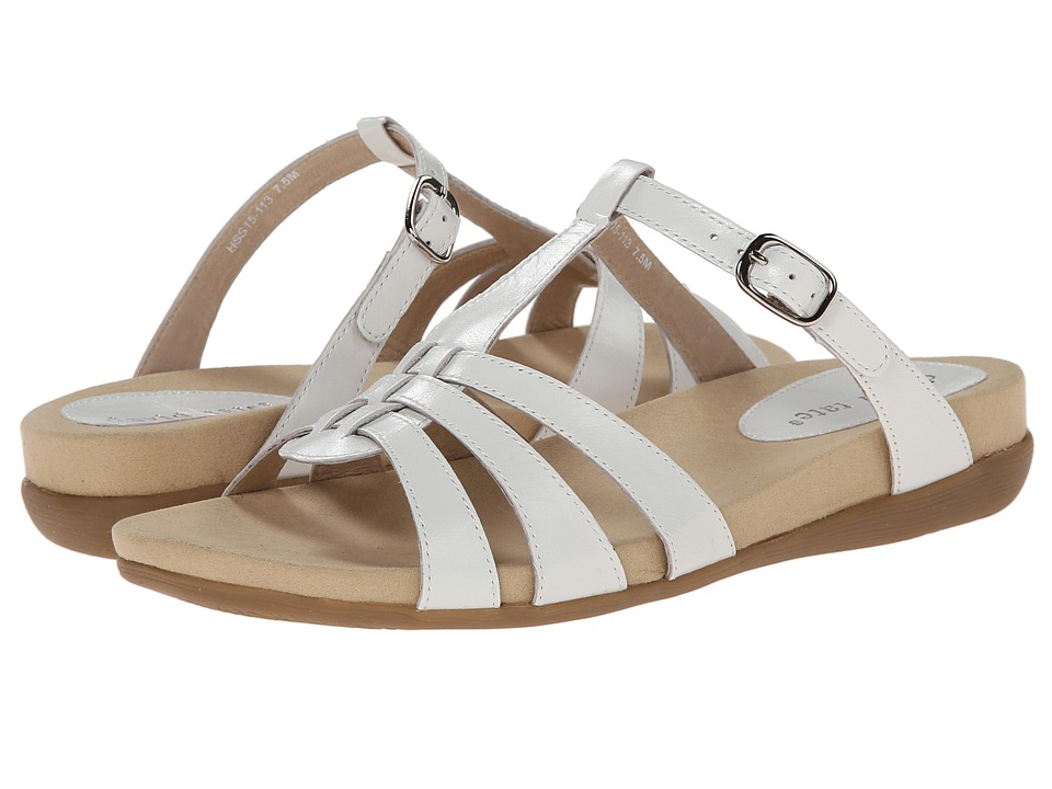 David Tate - Squeeze (White) Women's Sandals