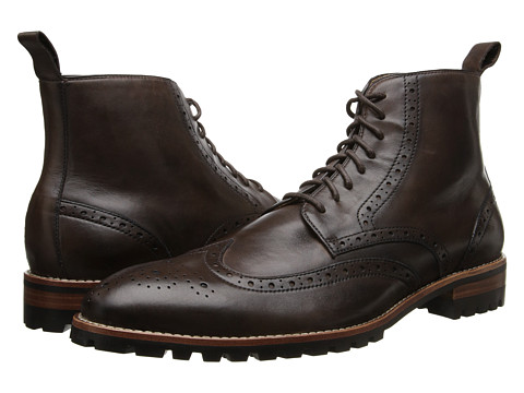 Ron White - Wayne (Espresso Distressed Supple Calf) Men