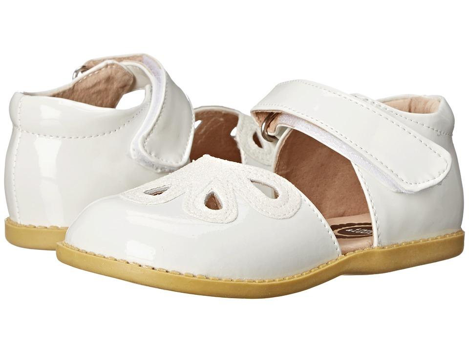 Livie & Luca - Petal (Toddler/Little Kid) (White) Girl's Shoes